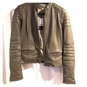 NWT Banana Republic Limited Edition Leather Jacket